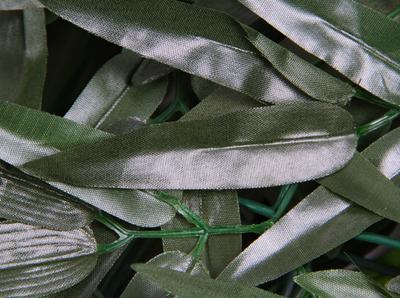 Kunsthaag tuinscherm bamboeblad x 3m 67 99 for Bedek zijn pergola