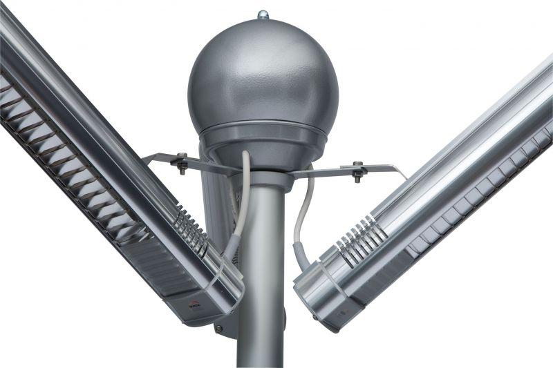 Burda term palms elektrische terrasverwarmer toren 8kw - Toren voor pergola ...