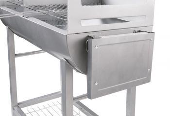 banquet houtskool barbecue half vat model 59 99. Black Bedroom Furniture Sets. Home Design Ideas