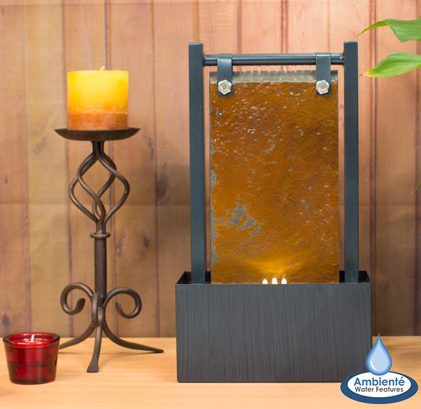 Bernoulli Tafel-Waterornament met LED Verlichting van Ambienté ...