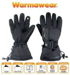 "Warmawear™ ""Dual Fuel"" en ""Burst Power"" Verwarmde Skihandschoenen op Batterijen"