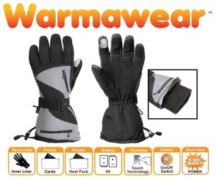 "Warmawear™ ""Dual Fuel"" en ""Burst Power"" Sport Verwarmde Handschoenen op Batterijen - 3 Warmtestanden"