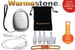 Oplaadbare Handverwarmer / Zaklamp / Fietslamp / Powerbank - Warmastone™