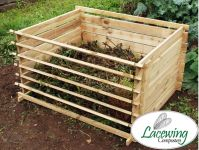 Chamberlain Easy-load Houten Compostbak - Groot- 718 liter