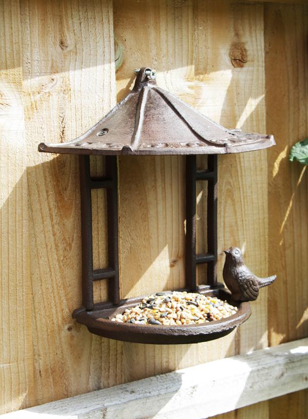 Alium Gietijzeren Vogel Voedertafel Voor Aan De Muur