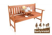 Earlywood™ Taunton Hardwood 2 Zits 1.5m Pop Up Tuinbank