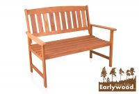 Earlywood™ Richmond Hardhouten 2 Zits Tuinbank - B120cm
