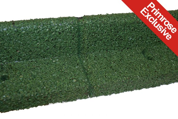 6m Flexi-Border Garden Edging (6x 1m packs) in Green - H8cm - by EcoBlok
