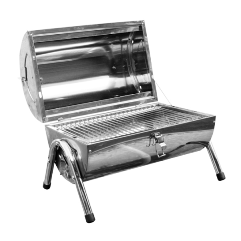 Draagbare Ronde Koffer Barbecue