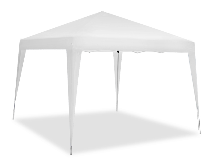 Stalen Budget 3m x 3m Pop-up Vouwtent - Wit