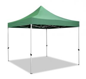 Hybrid Plus, Pop Up Staal/Aluminium Vouwtent - Groen - 3m x 3m