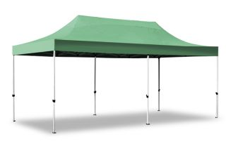 Hybrid Plus, Pop Up Staal/Aluminium Vouwtent - Groen - 3m x 6m