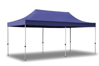Hybrid Plus, Pop Up Staal/Aluminium Vouwtent - Blauw - 3m x 6m