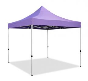 Hybrid Plus, Pop Up Staal/Aluminium Vouwtent - Lila - 3m x 3m
