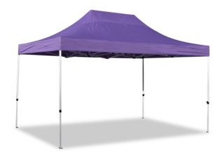 Hybrid Plus, Pop Up Staal/Aluminium Vouwtent - Lila - 3m x 4,5m