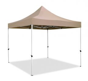 Hybrid Plus, Pop Up Staal/Aluminium Vouwtent - Beige - 3m x 3m