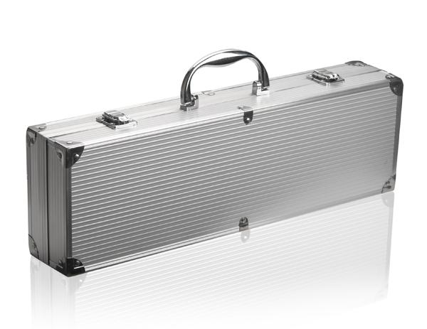 banquet aluminium koffer met bbq gereedschap set 27 99. Black Bedroom Furniture Sets. Home Design Ideas