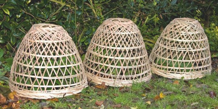 Bamboo Plant Covers - Set of 3