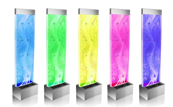 """Orion"""" Bubbelwand met Kleur Veranderende Verlichting - H183cm € 499,99"""
