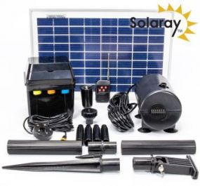 Waterpomp Kit op Zonne-energie van Solaray™ - 800 l/u