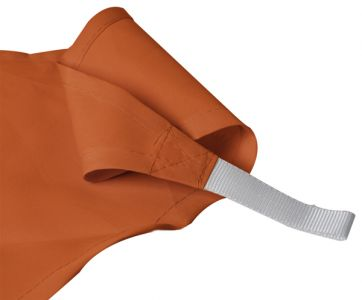 Kookaburra® 3,0m Driehoek Terracotta Party Schaduwdoek (Geweven - Waterafstotend)