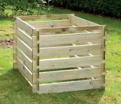 Houten Compostbak: Medium 605 liter