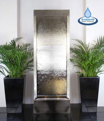 Grote waterwand voor binnen of buiten h174cm 429 99 for Grote planten voor binnen
