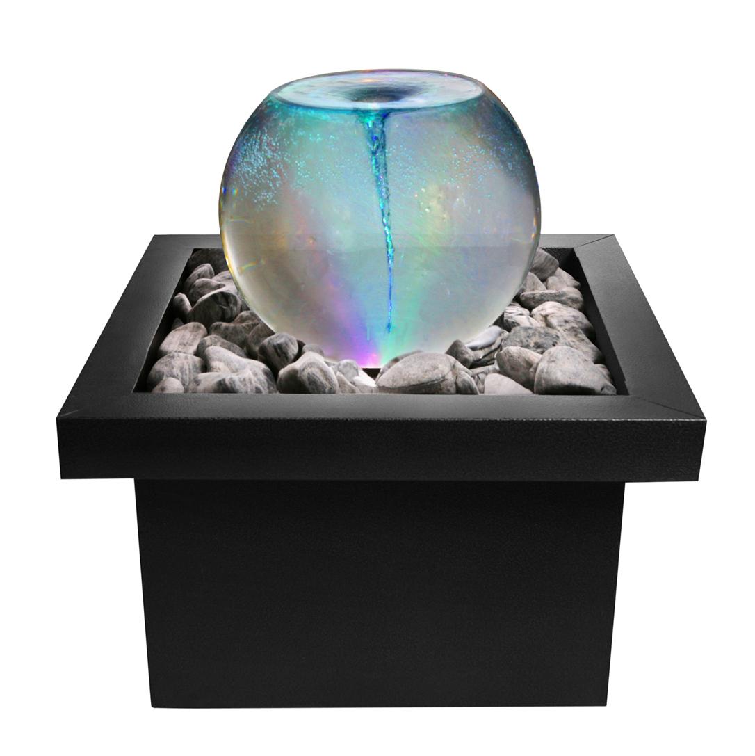 Draaikolk Whirlpool Waterornament met van Kleurveranderende Led- verlichting € 169,99